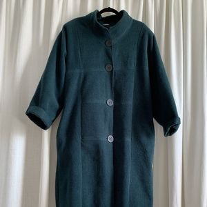 Vintage Maralyce Ferree Fleece Coat, Women's